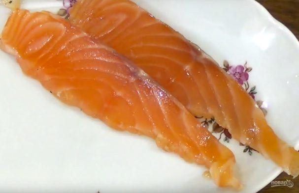 Засол красной рыбы в холодильнике