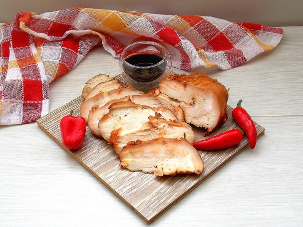 Буженина из куриного филе