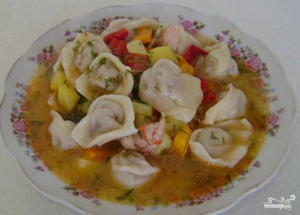 Барак-чучвара (пельмени по-узбекски)