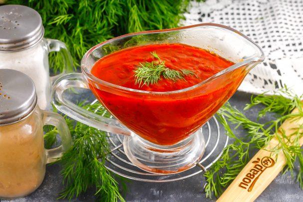 Томатно-коньячный соус