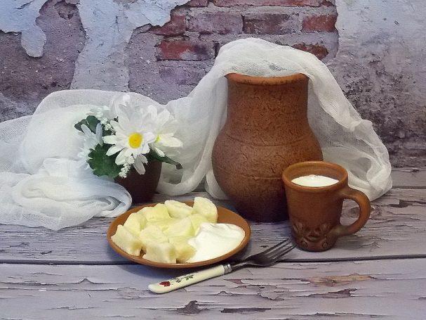 Ленивые творожно-рисовые вареники с сыром