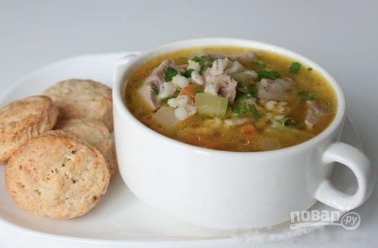 суп с говядиной и перловкой пошаговый рецепт с фото
