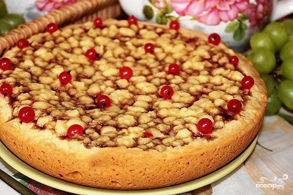 торт с смородиновым вареньем шаговый рецепт с фото