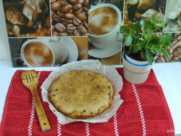 Пирог с фаршем и грибами на скорую руку