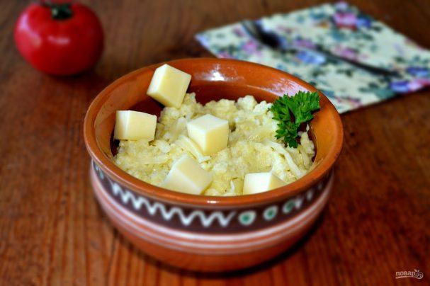 Пшенная каша с сыром