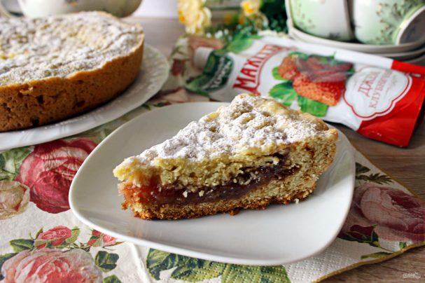 Лучший рецепт пирога с джемом в мультиварке