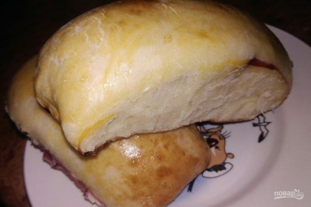 Духовые пирожки с вишнями (тесто на молоке)