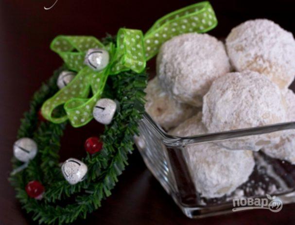Ореховые пирожные на десерт
