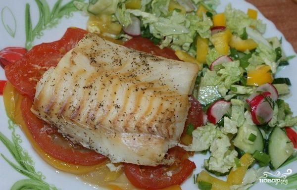 диетические блюда из рыбы рецепты