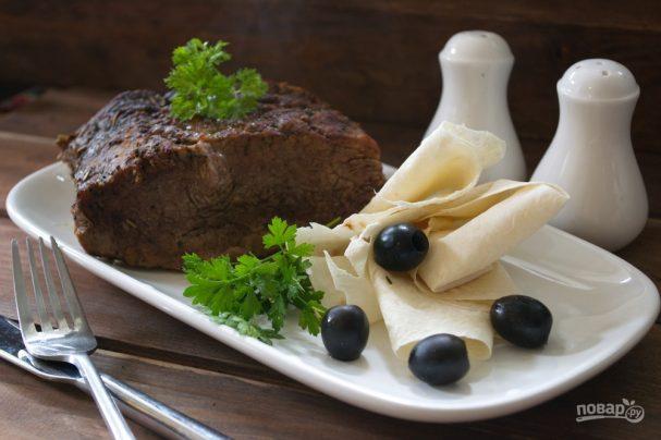 Мясо гриль в духовке