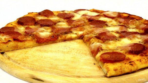 Простая и вкусная пицца