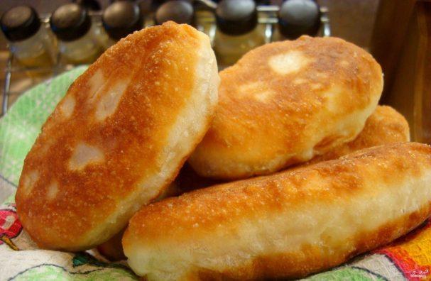 дрожжевые пирожки жареные с картошкой рецепт