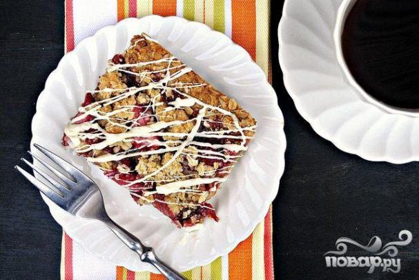 Клубничные пирожные с белым шоколадом