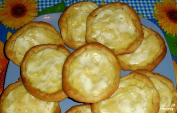 Шаньга рецепт тесто