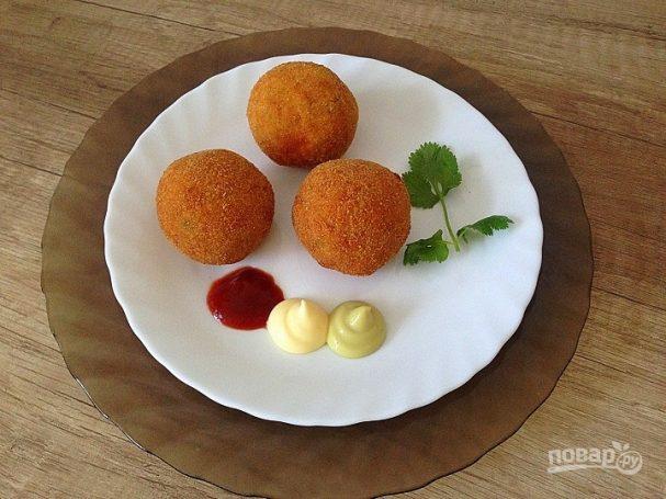 Аранчини из кускуса с цукини и моцареллой
