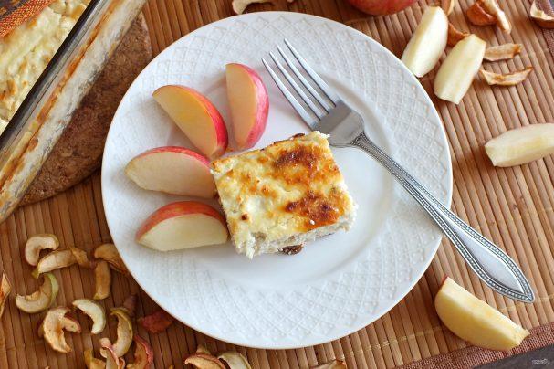 Запеканка с яблоками для диабетиков