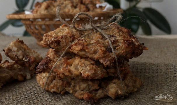 Домашнее овсяное печенье без муки (низкокалорийное)