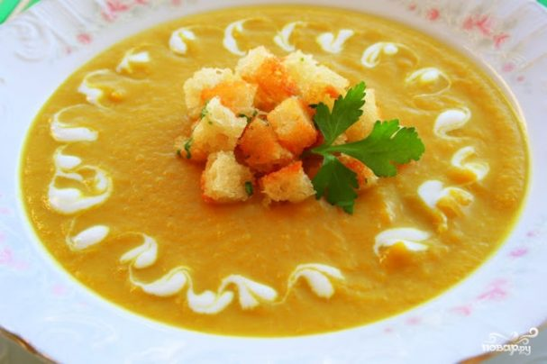Итальянский крем-суп