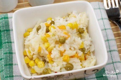 Рагу с овощами и рисом
