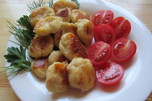 Картофельные ньокки с курицей и сыром