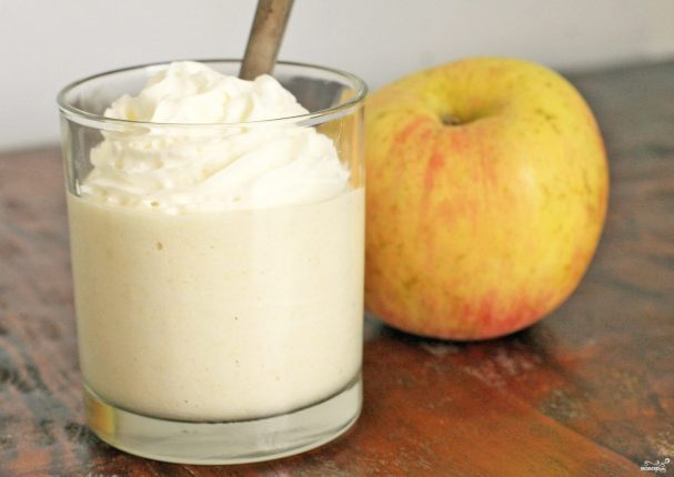 Яблочный мусс – кулинарный рецепт