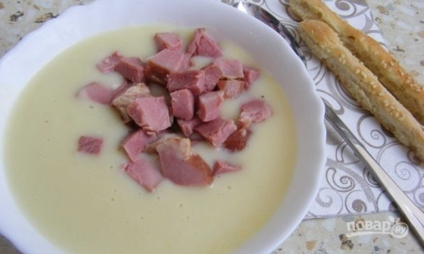 "Суп с сыром ""Дружба"""