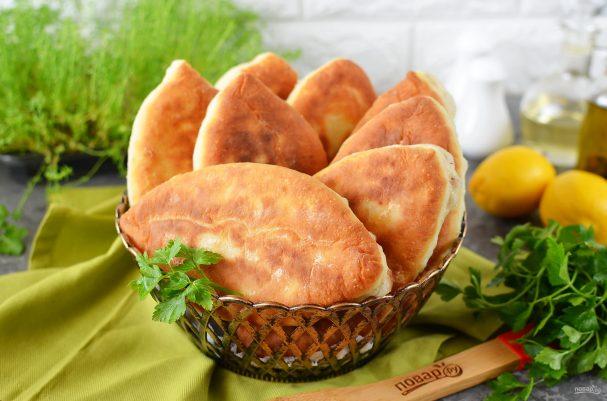 Вкусные пирожки на кефире