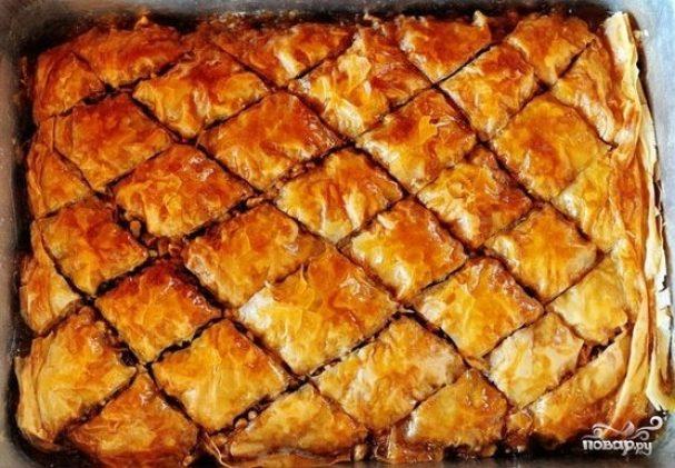 рецепт армянской пахлави