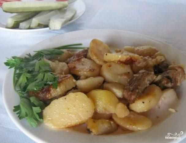 Жаркое из картошки