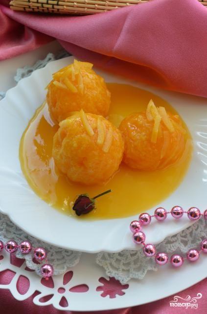 Карамельные мандарины