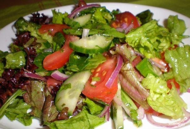 Салат к запеченной курице
