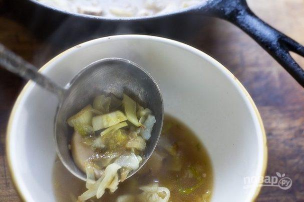 Овощной суп по-китайски