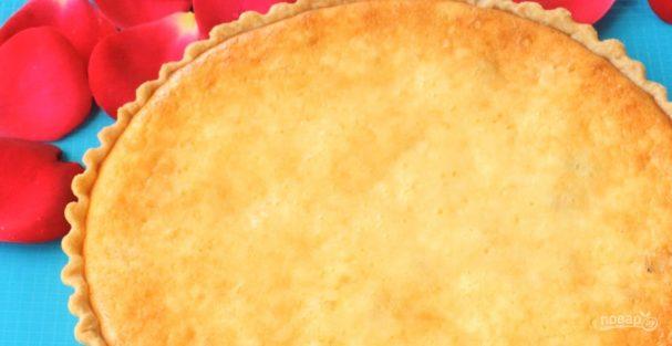 Творожный пирог с изюмом