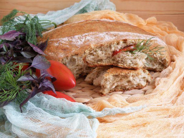 Ароматный картофельный хлеб