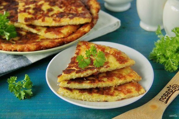 Хачапури для ленивых на сковороде с сыром