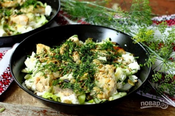 Салат из куринной грудки