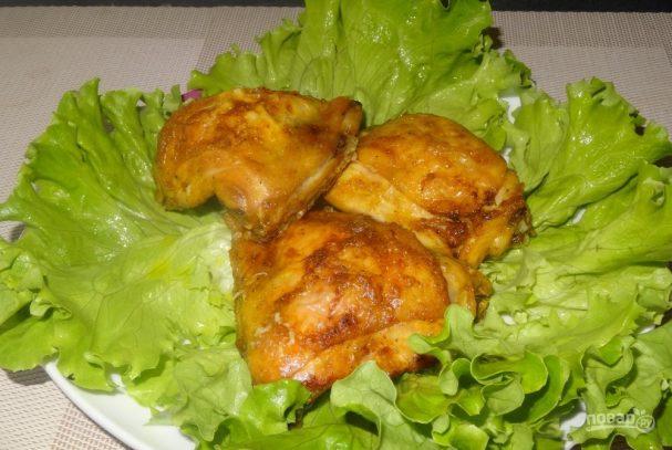 Бедра куриные в духовке