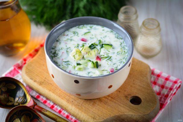 Холодный суп из кваса