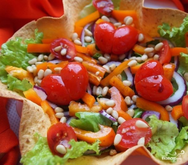 как приготовить салат с бальзамическим уксусом