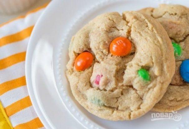 Печенье с M&Ms