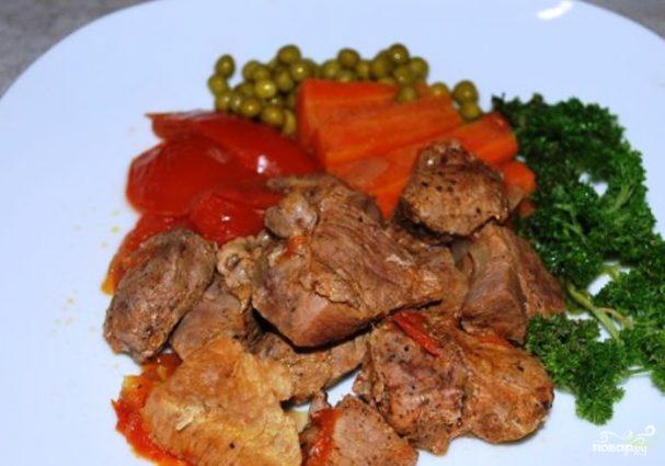 Мясо кабана в мультиварке
