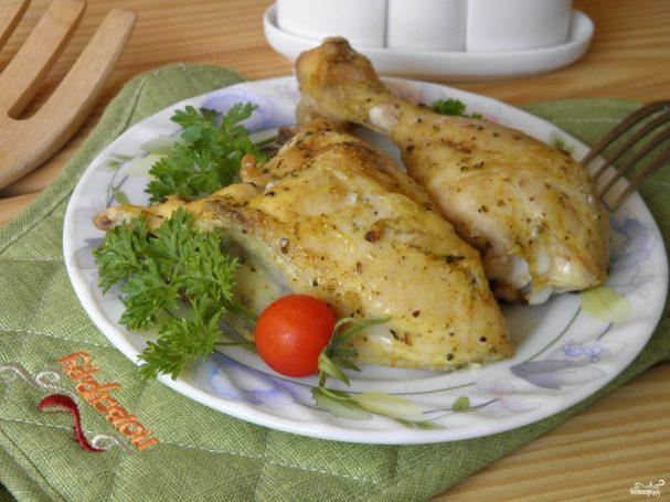 Курица на соли кусочками