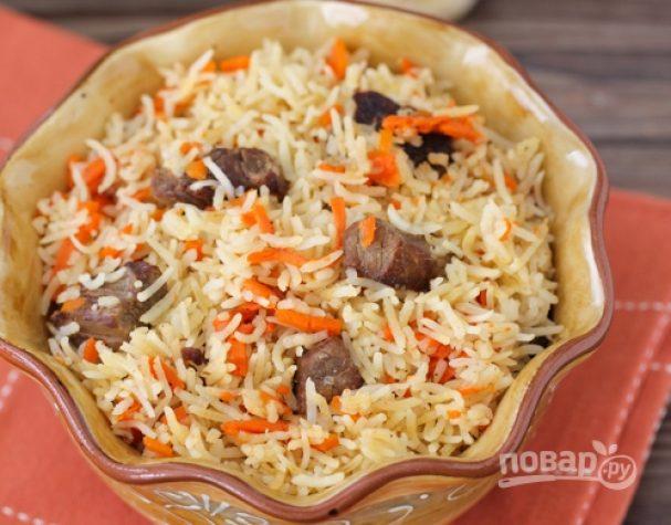 Плов из говядины по-узбекски