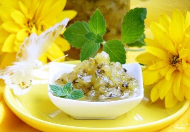 Варенье из огурцов с лимоном