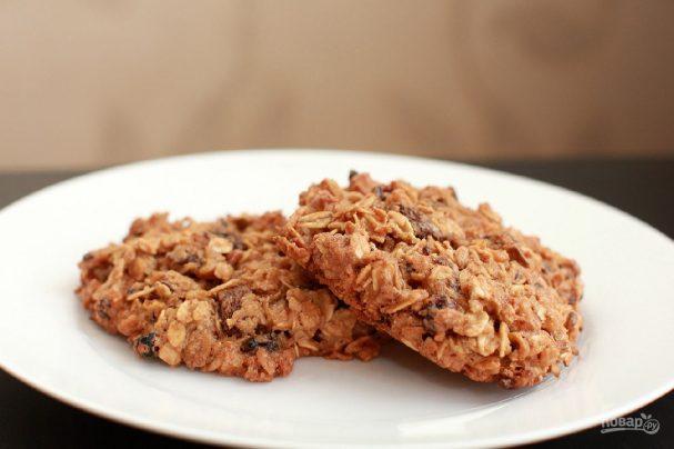 Печенье из геркулесовых хлопьев
