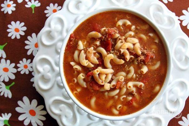 Суп мясной