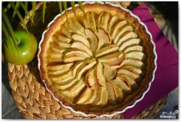 Французский яблочный тарт