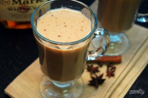 Ароматный чай с бурбоном