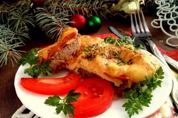 Мясо по-французски на Новый год