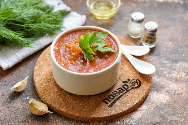Медово-томатный соус